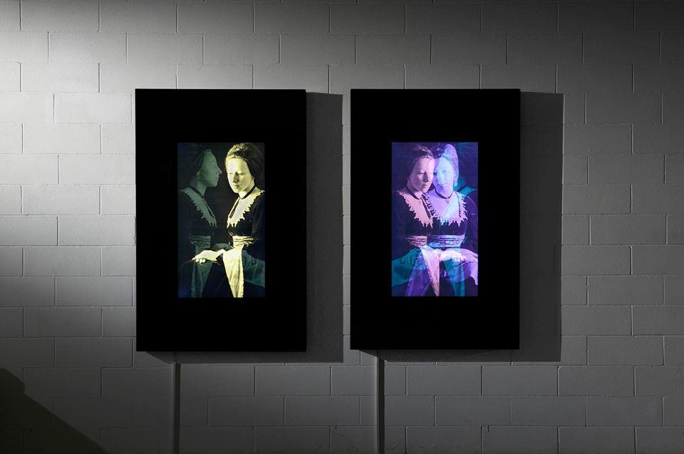 Davide Coltro, Studi di figura (2010), PS-System 46, pittura elettronica. (Courtesy Gagliardi & Tomke Gallery - Turin, foto archivio dell'artista) Foto archivio dell'artista