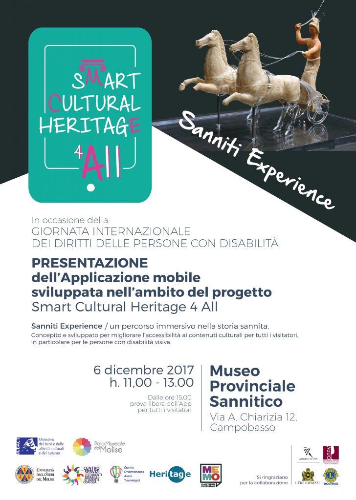 Locandina Sanniti Experience | Museo Provinciale Sannitico di Campobasso
