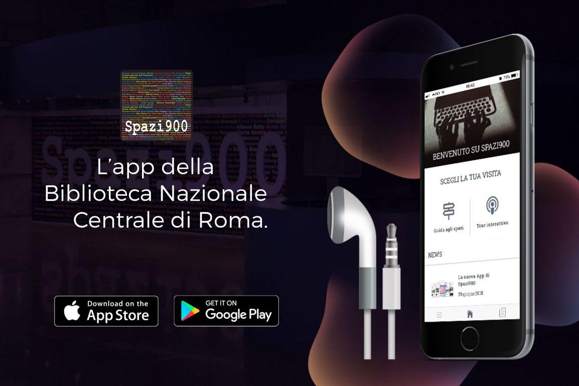 App Spazi900 Biblioteca Nazionale Centrale di Roma